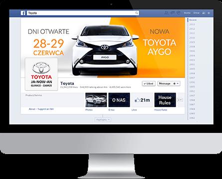 Toyota mockup